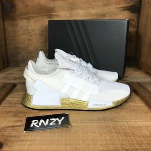 NEW Adidas NMD R1 V2 Gold Boost